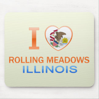 I Love Rolling Meadows, IL Mouse Pad