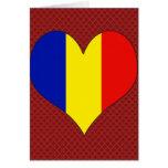 I Love Romania Card
