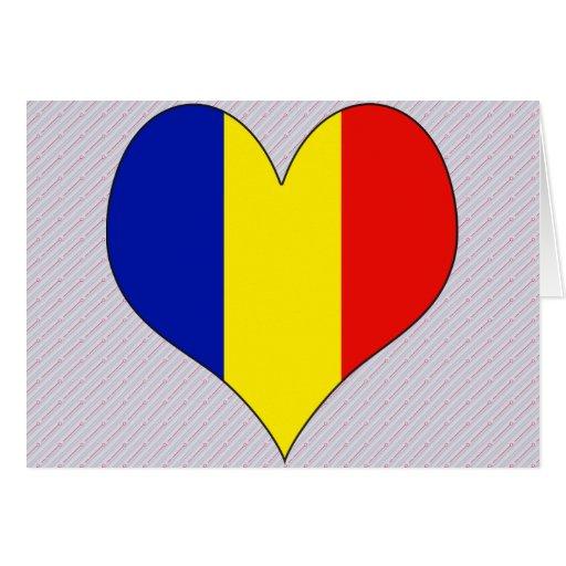 I Love Romania Greeting Card