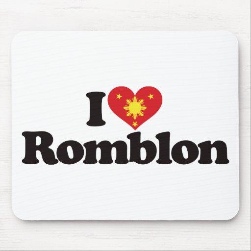 I Love Romblon Mousepads