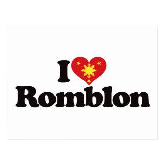 I Love Romblon Postcard