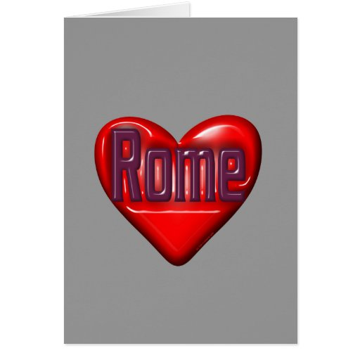 I Love Rome Cards