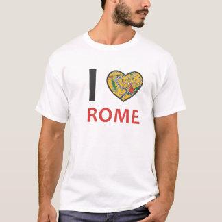 I Love Rome City Heart T-Shirt
