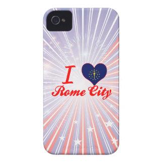 I Love Rome City, Indiana Case-Mate iPhone 4 Case