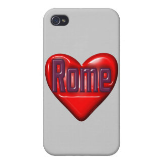 I Love Rome Covers For iPhone 4
