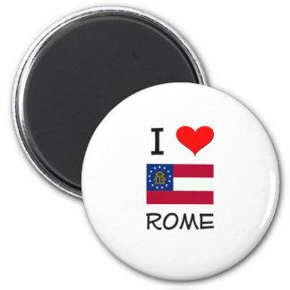 I Love ROME Georgia Magnet