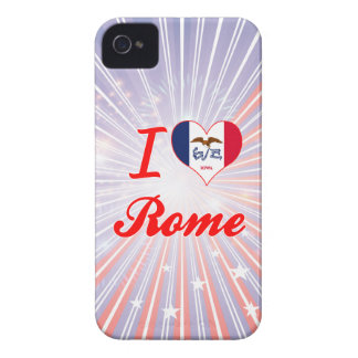 I Love Rome, Iowa iPhone 4 Covers