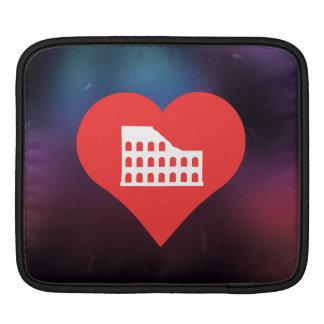 I Love Rome iPad Sleeve