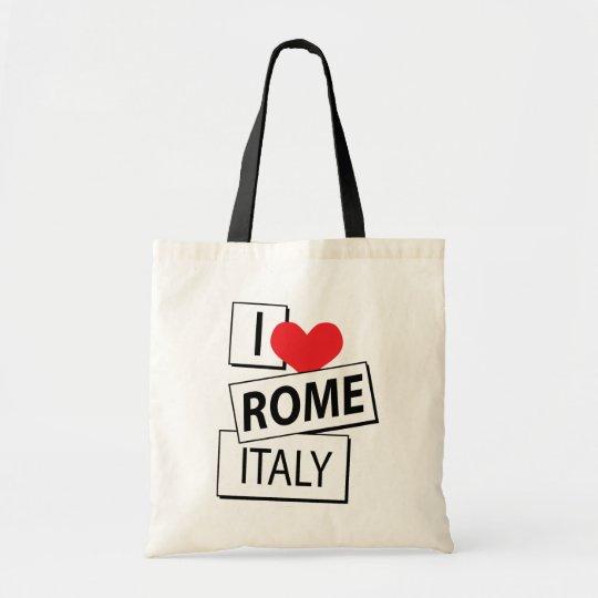 I Love Rome Italy Tote Bag