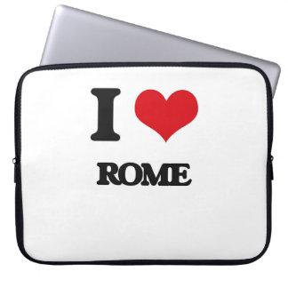I Love Rome Laptop Sleeve