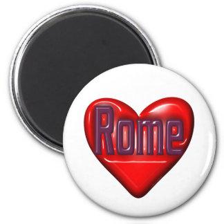 I Love Rome 2 Inch Round Magnet