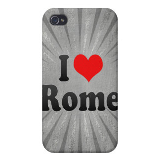 I Love Rome, United States Case For iPhone 4
