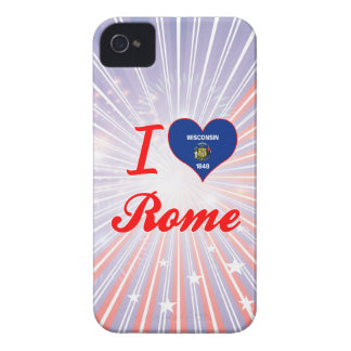 I Love Rome, Wisconsin iPhone 4 Cover