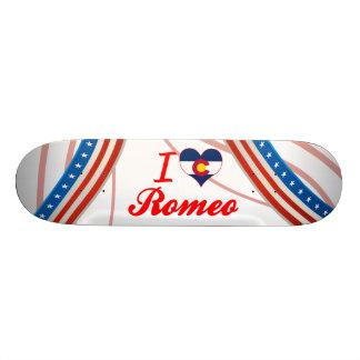 I Love Romeo, Colorado Custom Skate Board