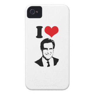 I LOVE ROMNEY 2012 iPhone 4 COVER