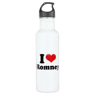 I LOVE ROMNEY 24OZ WATER BOTTLE