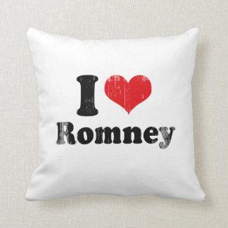 I LOVE ROMNEY THROW PILLOW