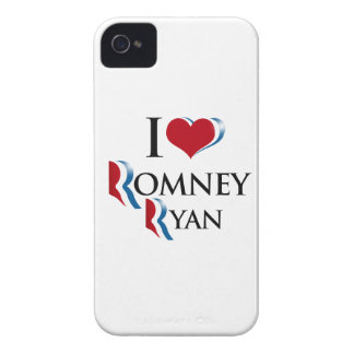 I LOVE ROMNEY RYAN.png iPhone 4 Case-Mate Case