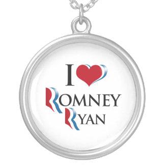 I LOVE ROMNEY RYAN.png Pendant