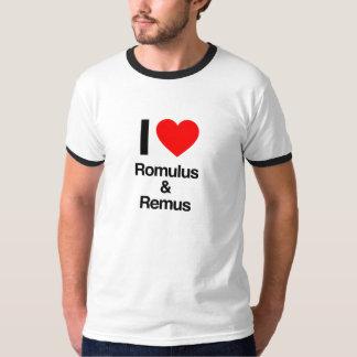 i love romulus and remus T-Shirt