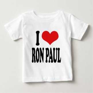 I Love Ron Paul Baby T-Shirt