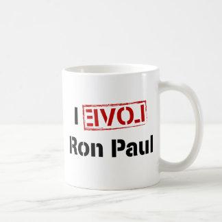 I Love Ron Paul Classic White Coffee Mug