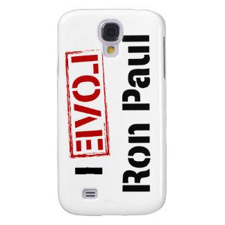 I Love Ron Paul Galaxy S4 Cases