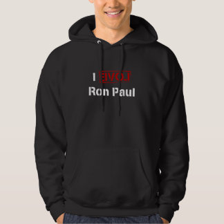 I LOVE Ron Paul Hooded Pullovers