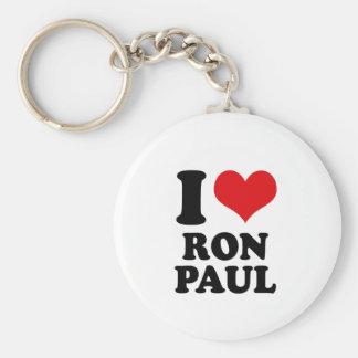 I LOVE RON PAUL KEY CHAINS