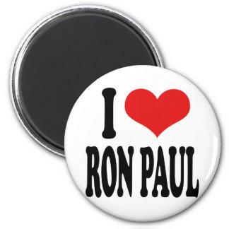 I Love Ron Paul Fridge Magnet
