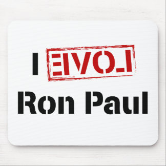 I Love Ron Paul Mouse Pad