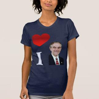 I Love Ron Paul Shirts
