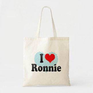 I love Ronnie Tote Bag