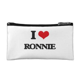 I Love Ronnie Cosmetics Bags