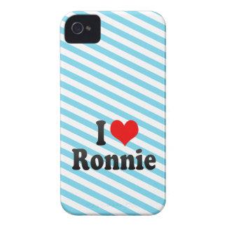 I love Ronnie iPhone 4 Case-Mate Case
