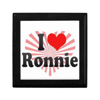 I love Ronnie Jewelry Box