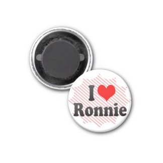 I love Ronnie Magnets