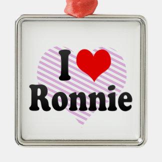 I love Ronnie Christmas Tree Ornaments