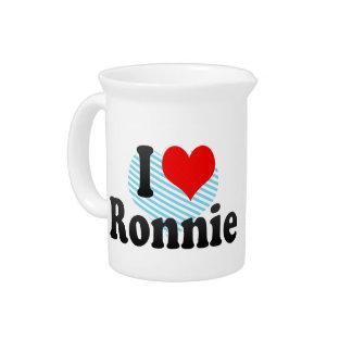 I love Ronnie Pitchers