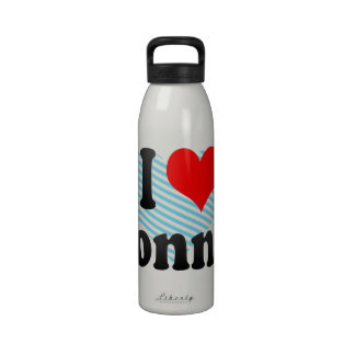 I love Ronnie Reusable Water Bottle