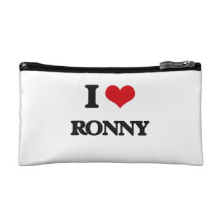I Love Ronny Makeup Bag