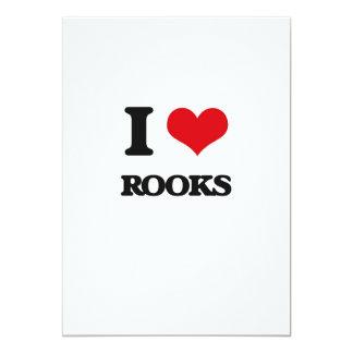 I Love Rooks Card