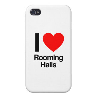i love rooming halls iPhone 4 covers