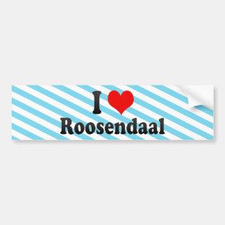 I Love Roosendaal, Netherlands Car Bumper Sticker