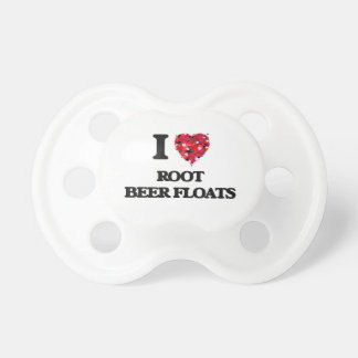 I love Root Beer Floats BooginHead Pacifier