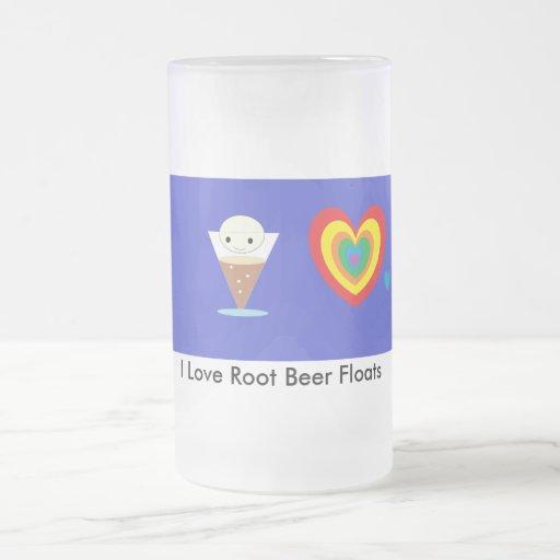 I Love Root Beer Floats Mug