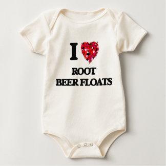 I love Root Beer Floats Romper