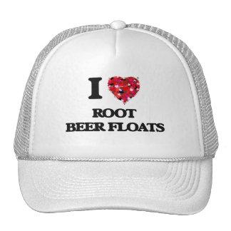 I love Root Beer Floats Trucker Hat