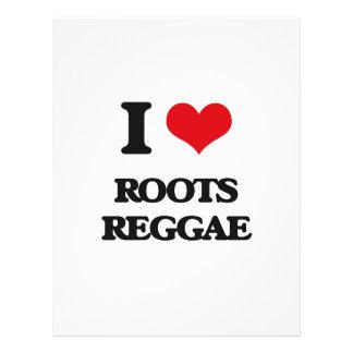 I Love ROOTS REGGAE Flyer