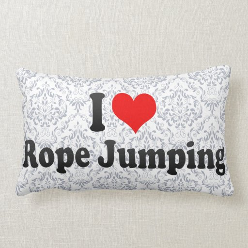I love Rope Jumping Pillow